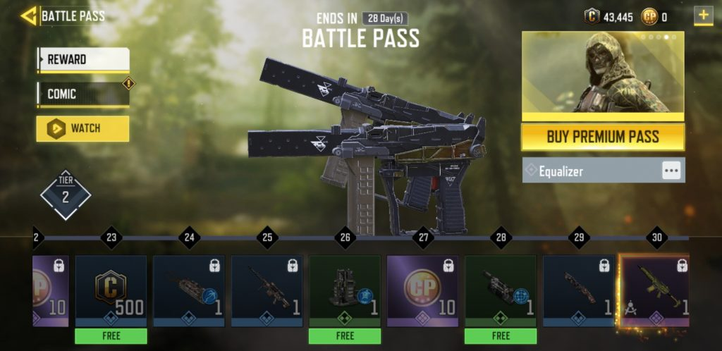 Equalizer Operator Skill - COD Mobile Battle Pass