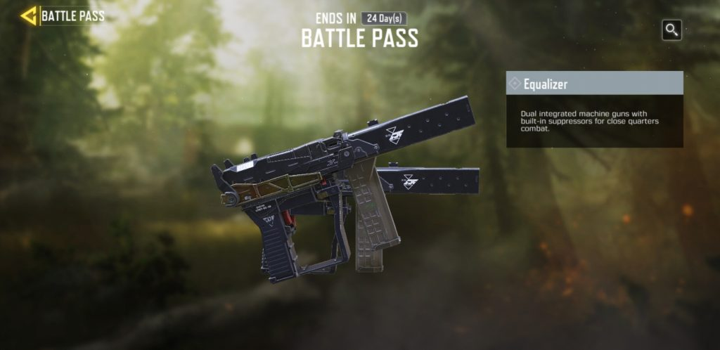 Equalizer Operator Skill in COD Mobile Battle Pass