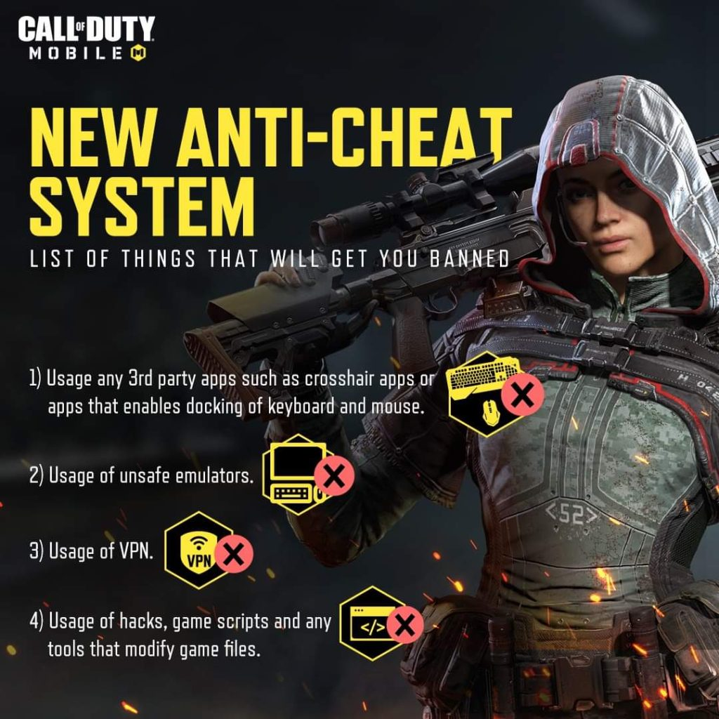 How to Not Get Banned in COD Mobile with Anti-Cheat System