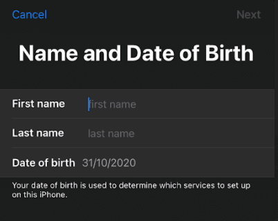Sign out of iCloud Account