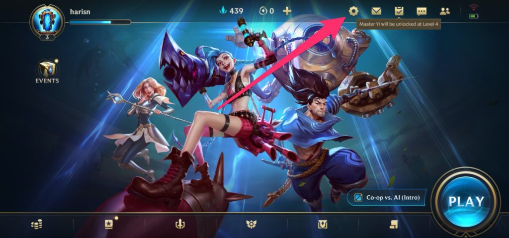 Play League of Legends: Wild Rift in 60 FPS