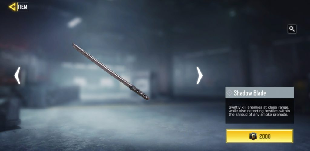 Shadow Blade - Operator Skill in COD Mobile