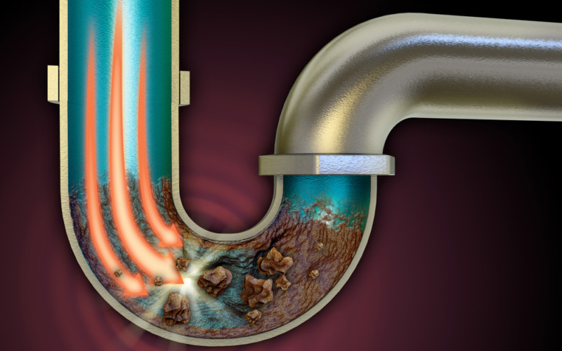 How to fix a clogged sink
