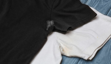 How to Remove antiperspirant stains.