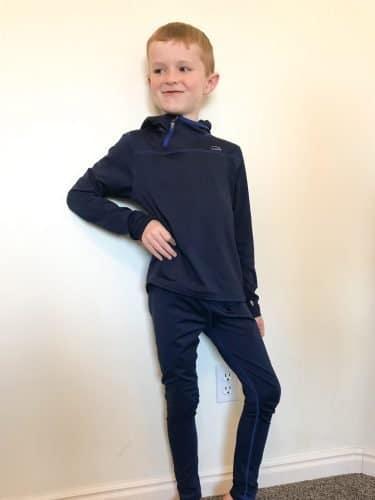 boy in thermals