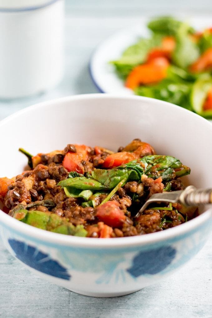 Lentil Tomato Stew {Camping Recipes}