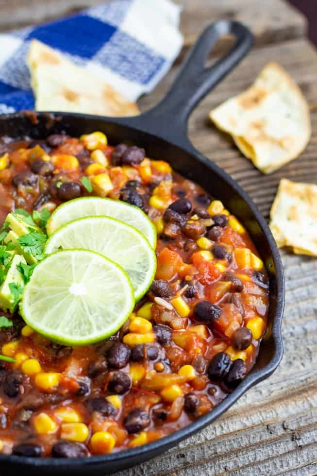 Yes-You-Can Black Bean Chili