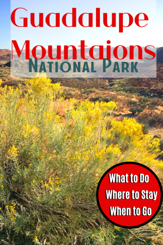 Guadalupe Mountains Best Things To Do