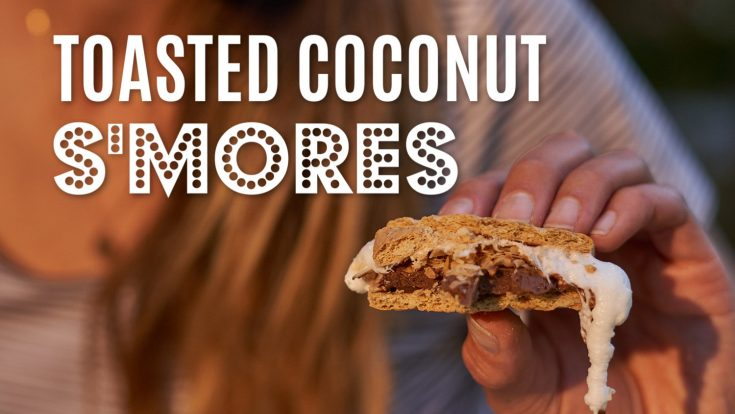 Toasted Coconut S'mores