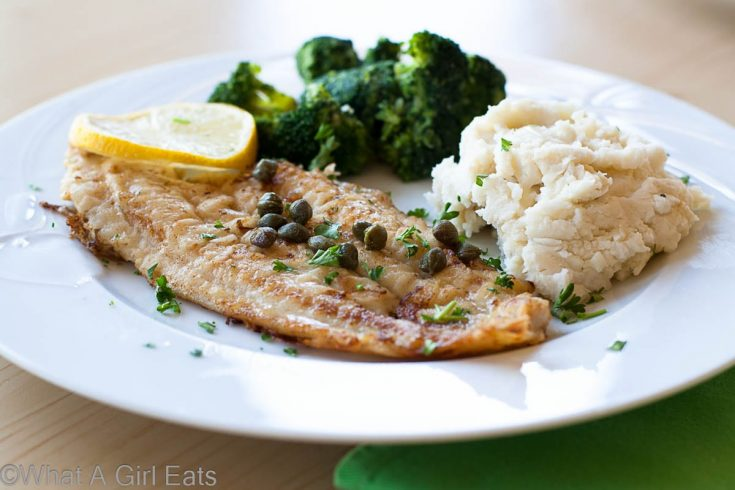 Quick Pan-Fried Dover Sole