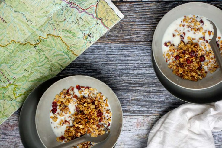 Toasted Oats Cereal (Camping Breakfast)