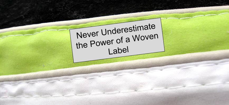 woven labels for clothing