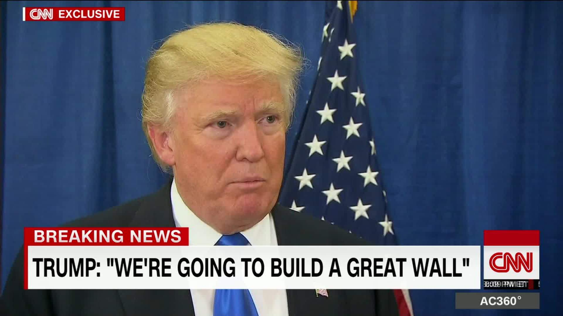 trump to build wall