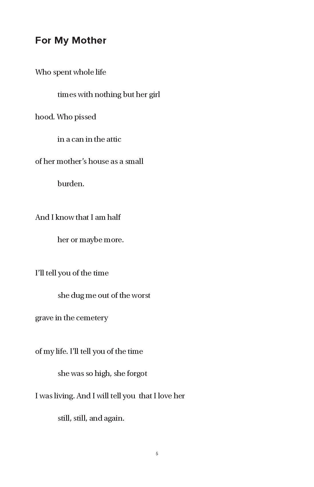 Poems About Perserverence 1