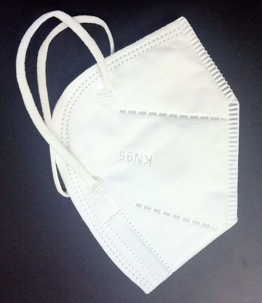 N95 Standard Protective Face Mask - White