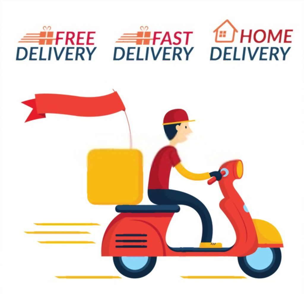 Free and Fast Home Delivery