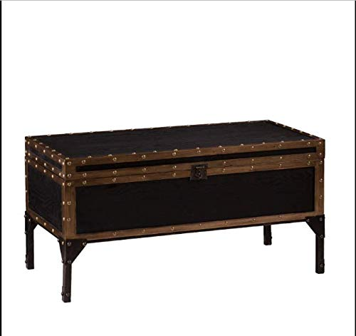 Southern Enterprises Charles Travel Trunk Coffee Table