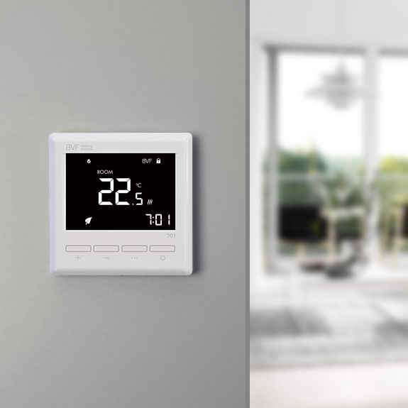 BVF 701 programmable room thermostat