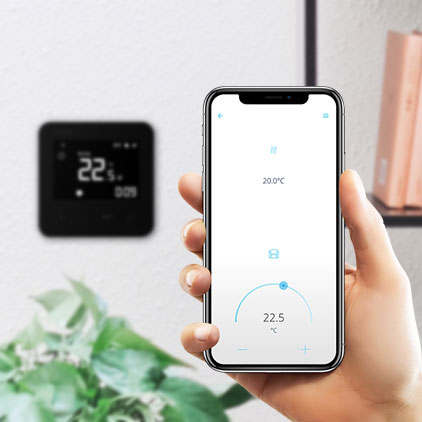 BVF Wifi thermostats