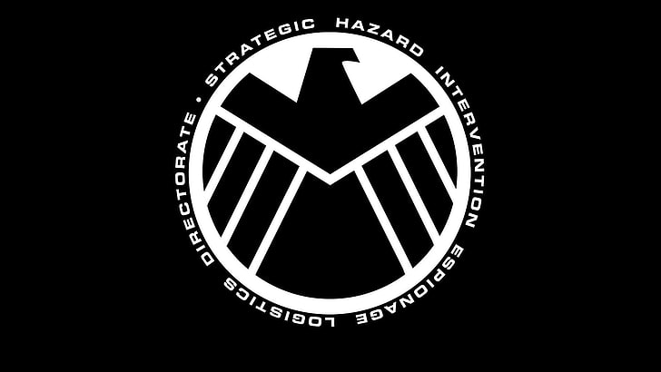 Marvel Logo Wallpaper Black And White