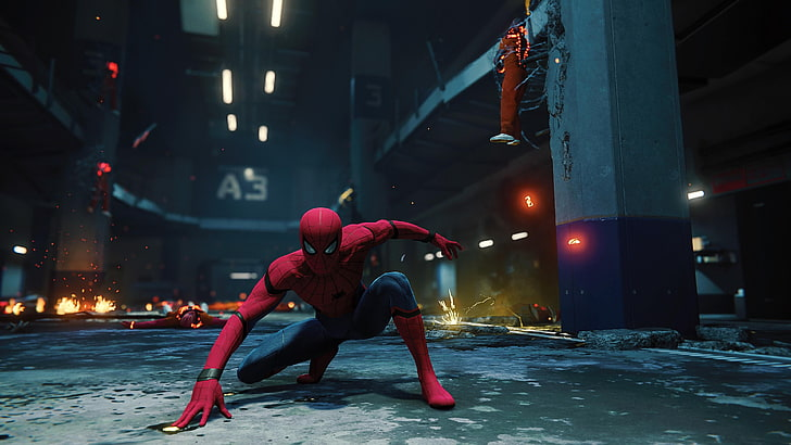 Spider Man Game Ps4 Wallpaper