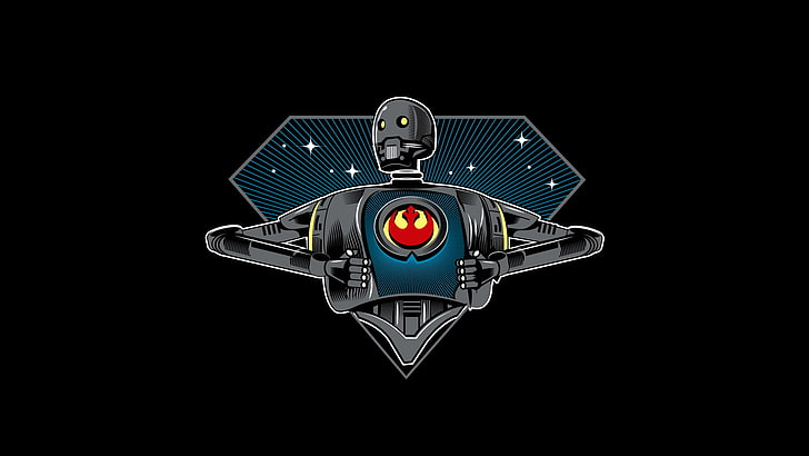 k 2so star wars robot rebel alliance wallpaper preview