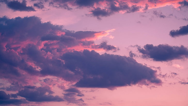 nature clouds sky sunset wallpaper preview