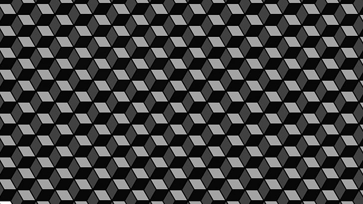 pattern optical illusions abstract 3d boxes wallpaper preview