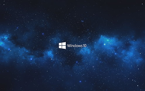 windows 10 blue sky galaxy wallpaper thumb