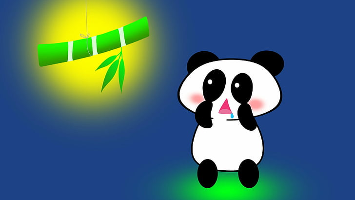 Cartoon Wallpaper Pandas Cute