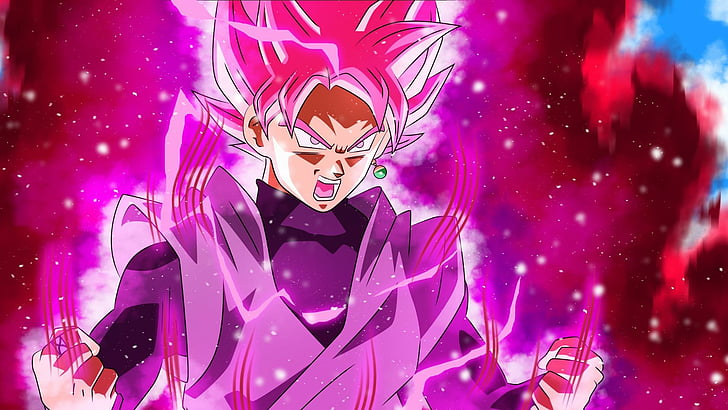 Purple Dragon Ball Z Wallpaper