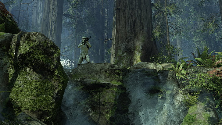 Star Wars Wallpaper Endor