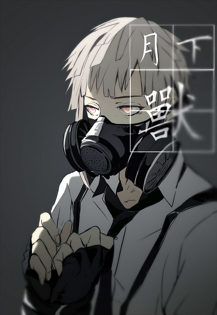 Anime Boy Wallpaper With Mask