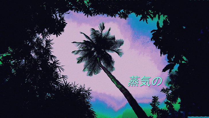 1920x1080 px aesthetic neon nature forests hd art wallpaper preview
