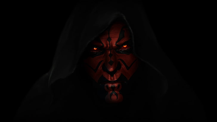 star wars darth maul a sith lord dark lord of the sith wallpaper preview