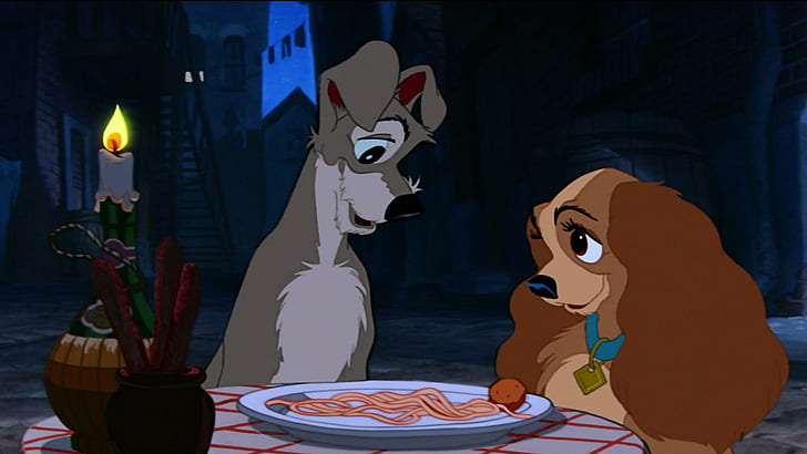 Disney Wallpaper Lady And The Tramp