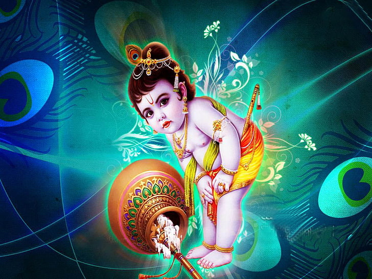 Iphone Cute Wallpaper Krishna Images