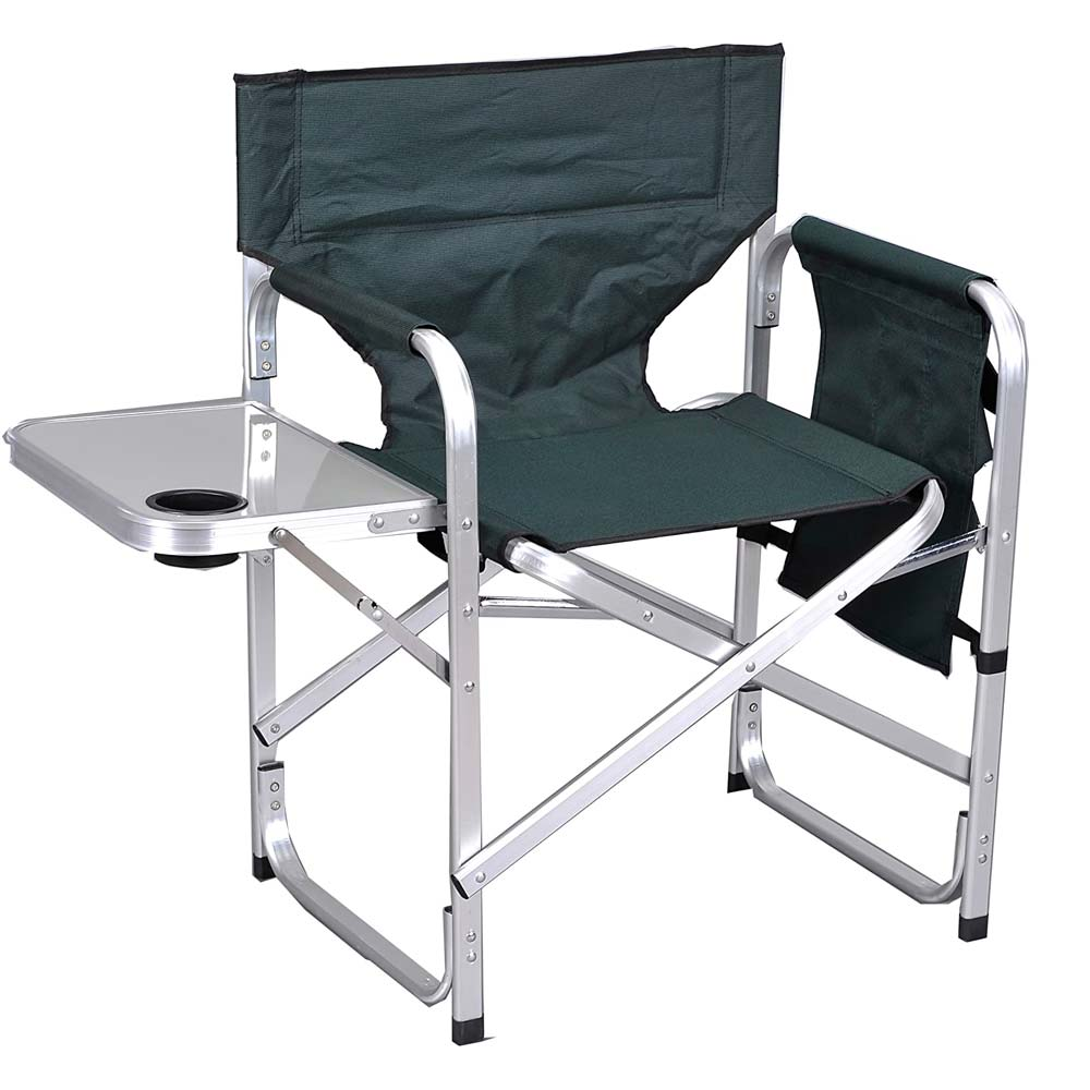 Ming's Mark Stylish Camping Back Folding Director's Chair