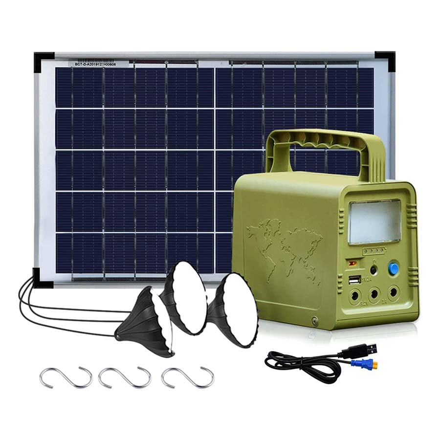 ECO-WORTHY 84Wh Portable Power Station with 18W Solar Panel