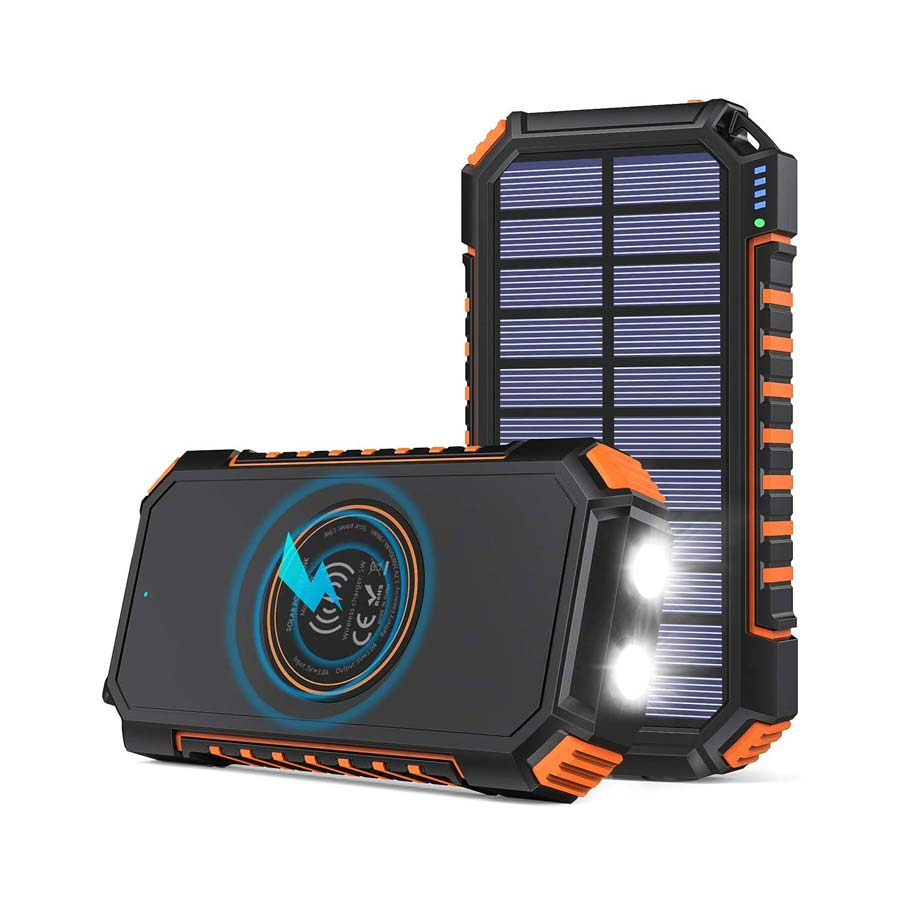 Riapow Wireless Solar Charger