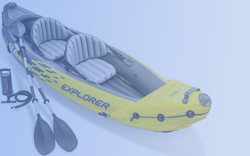 2 Person Inflatable Kayak Sets