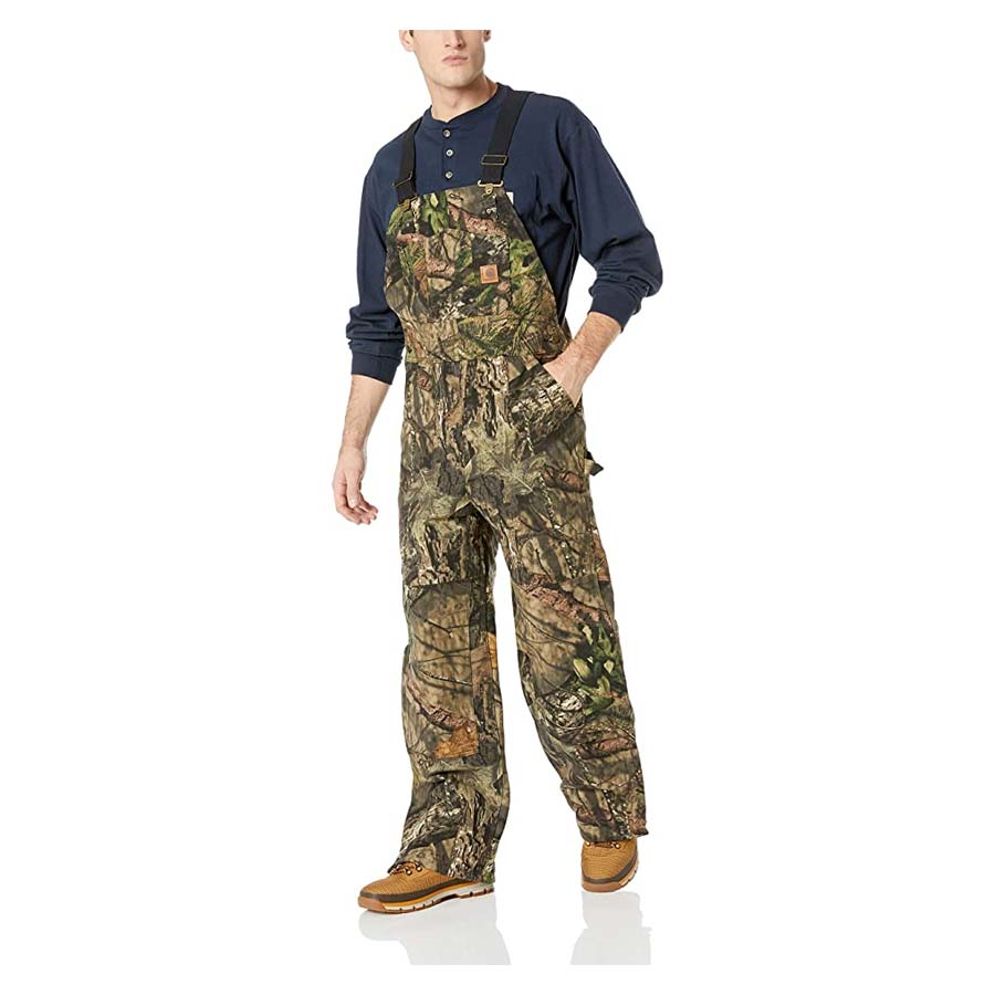 Carhartt Men's Hunt Loose Fit Duck Insulated Overall