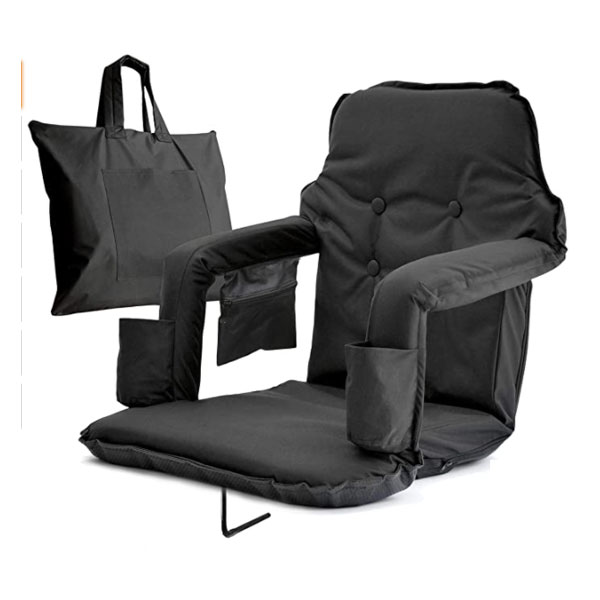 Extra Wide Foldable Stadium Chair for Bleachers