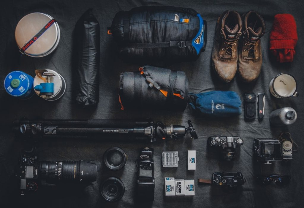 How to organize camping gears