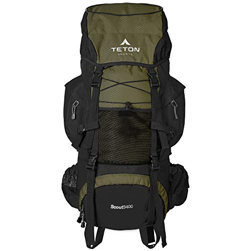 Backpack to organize clothes for camping