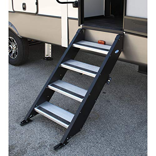 Fold Up Stair for trailer