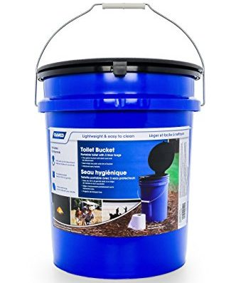 Camco Portable Toilet Bucket For Camping