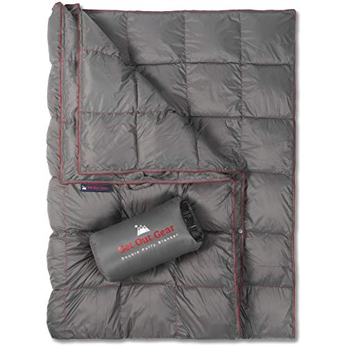 Get Out Gear Double Puffy Camping Blanket