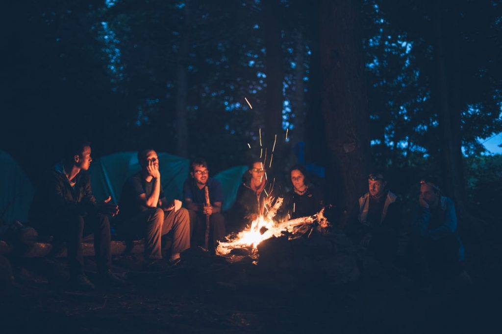 How To Keep The Campfire Going All Night
