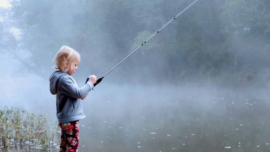 Fishing with kid
